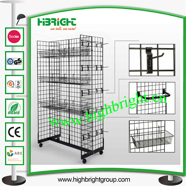 China Wire Mesh Panel Store Fixtures Display Stand Photos & Pictures ...