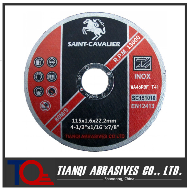 "Cutting Disc Grinding Disc 4.5""X1/16""X7/8"""