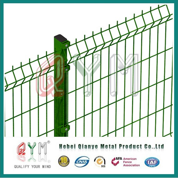 China Qym-Welded Mesh Fence/ Curved Welded Wire Fence Panels Photos ...