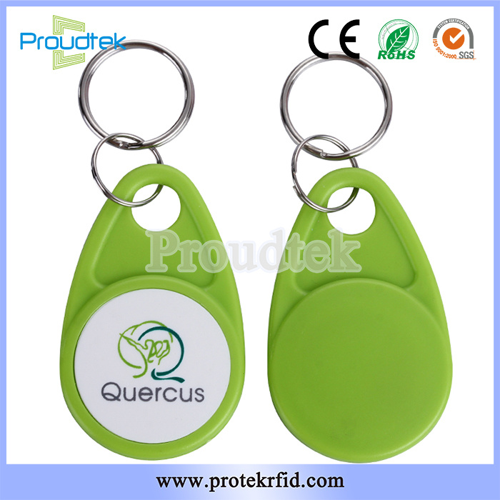 China Rfid Duplicate Abs Light Weight Key Fob Card For Apartment Access Control Wristband
