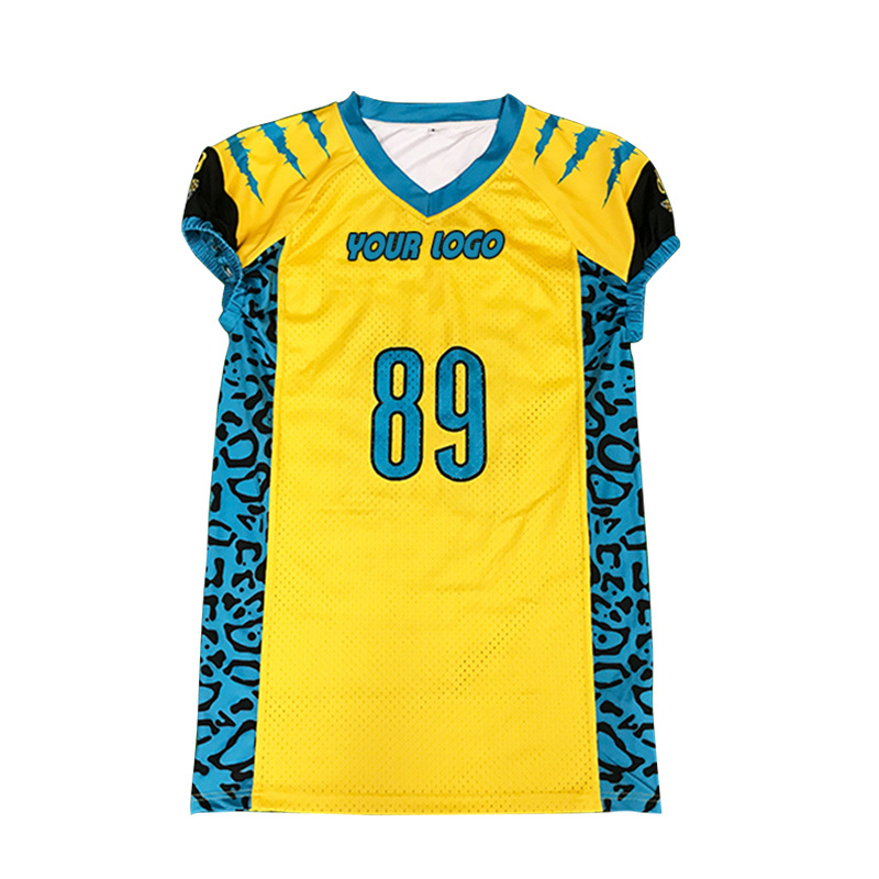 62059799b70 [Hot Item] Chinese Supplier Customized Football Jerseys Shirts American Football  Jersey