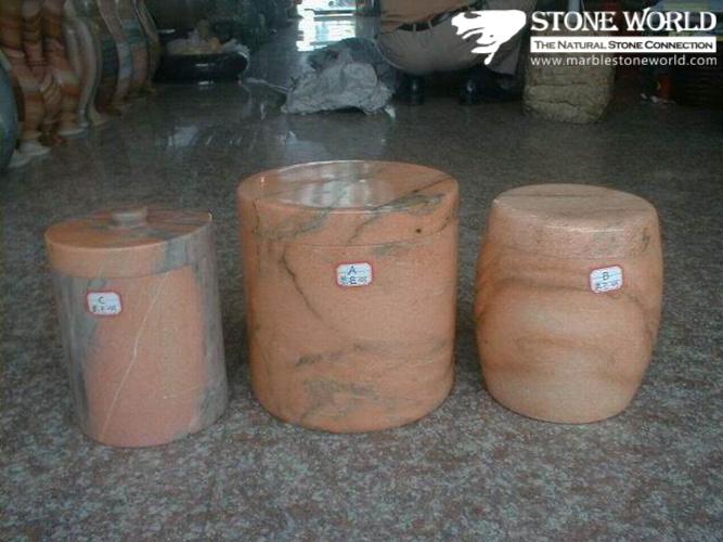 Marble Flower Vase For Garden Stone