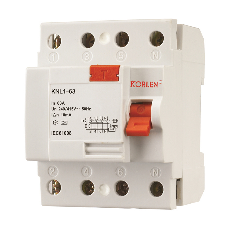 Knl1-63 (F360) Residual Current Circuit Breaker - 2007 Type pictures & photos