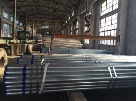 Galvanized Steel Pipe Manufacturers China/HS Code Hot DIP Galvanized Steel Pipe/Round Pipe Brackets pictures & photos