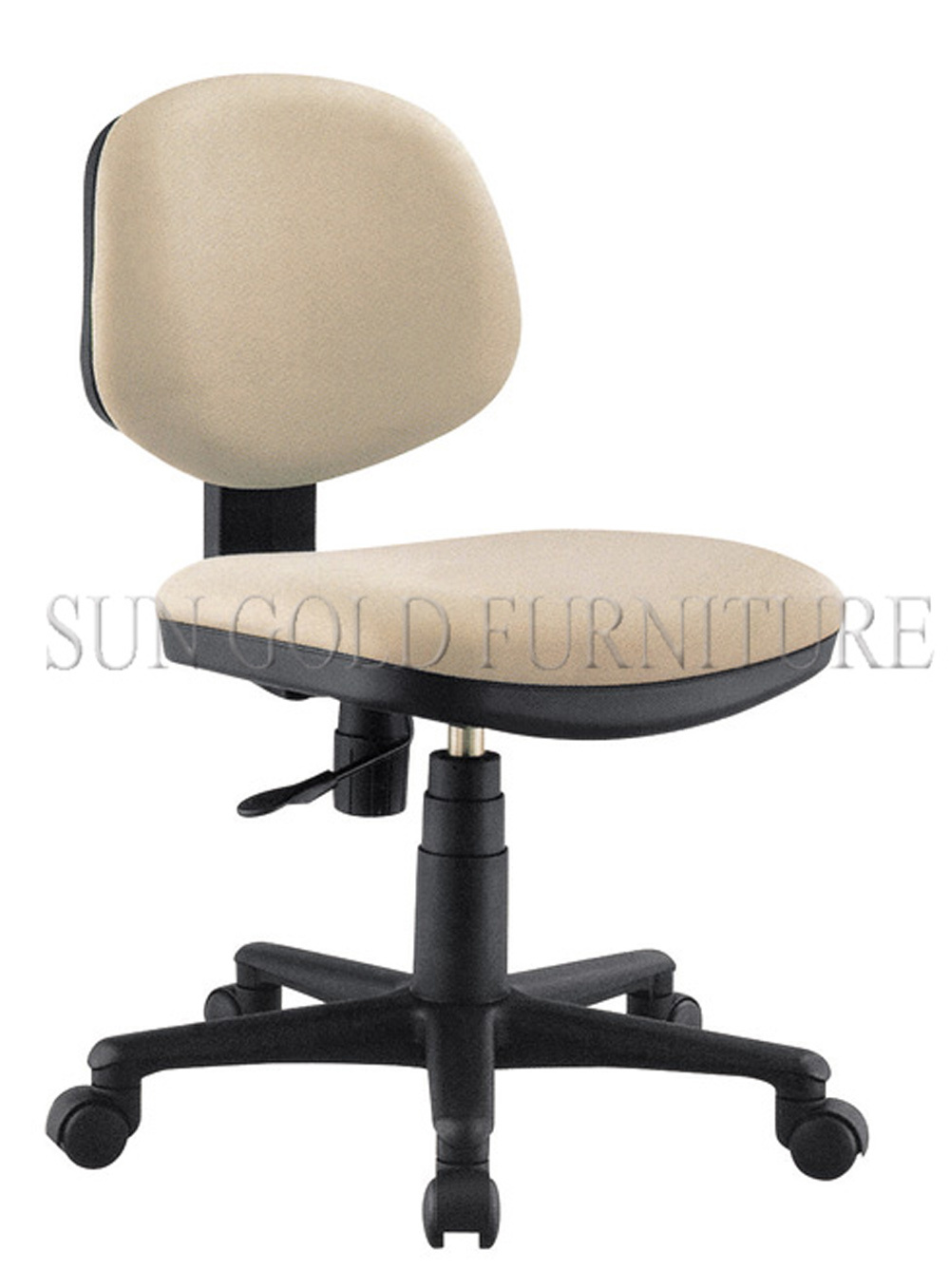 Fabric Office Chair Without Arm Rest Computer Sz Oca2029