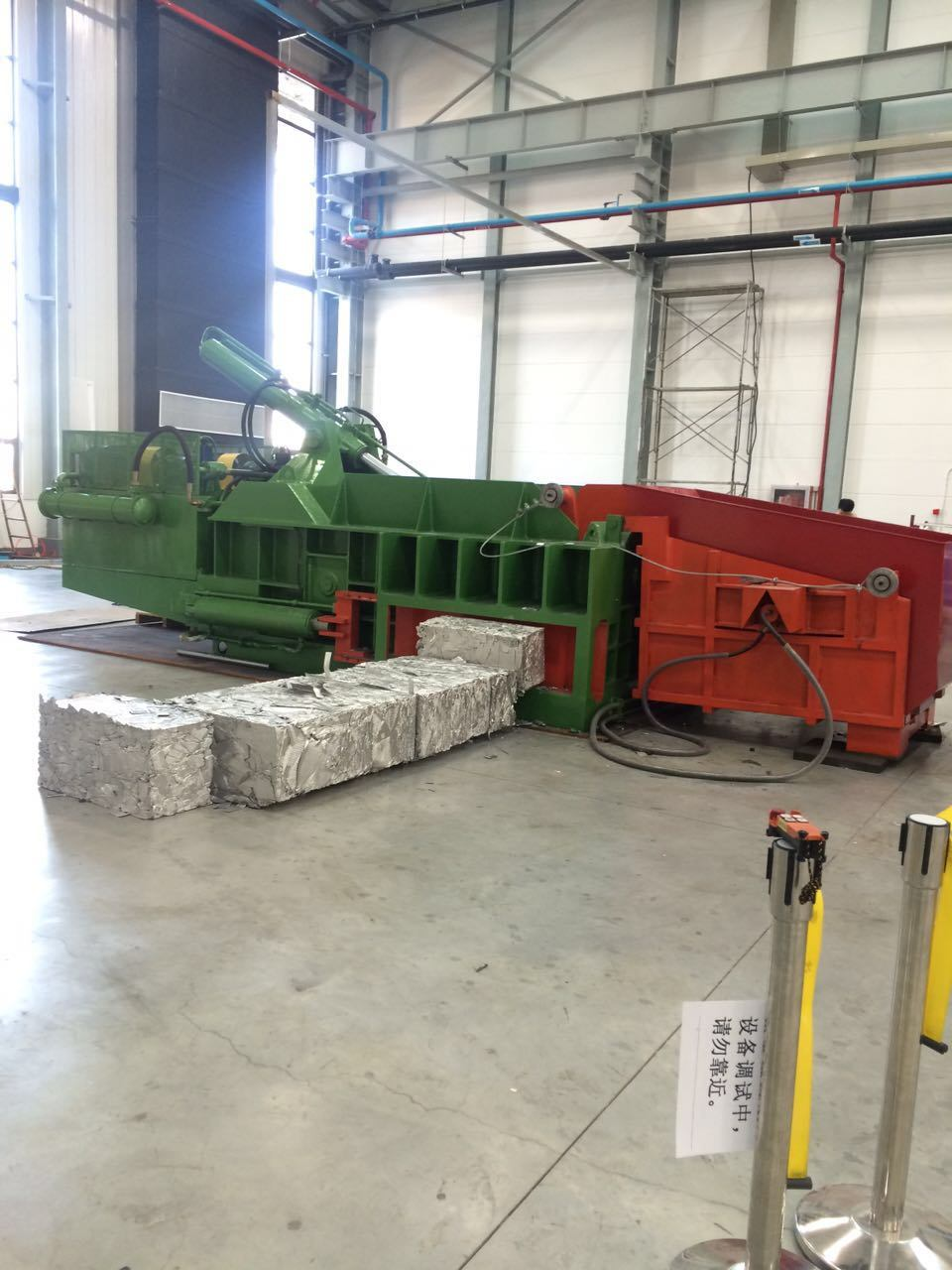 Ferrous Press Automatic Scrap Steel Baling Machine