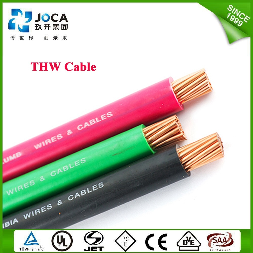 China Thw #12 12AWG 12 Gauge Solid Red Building Electrical Cable ...