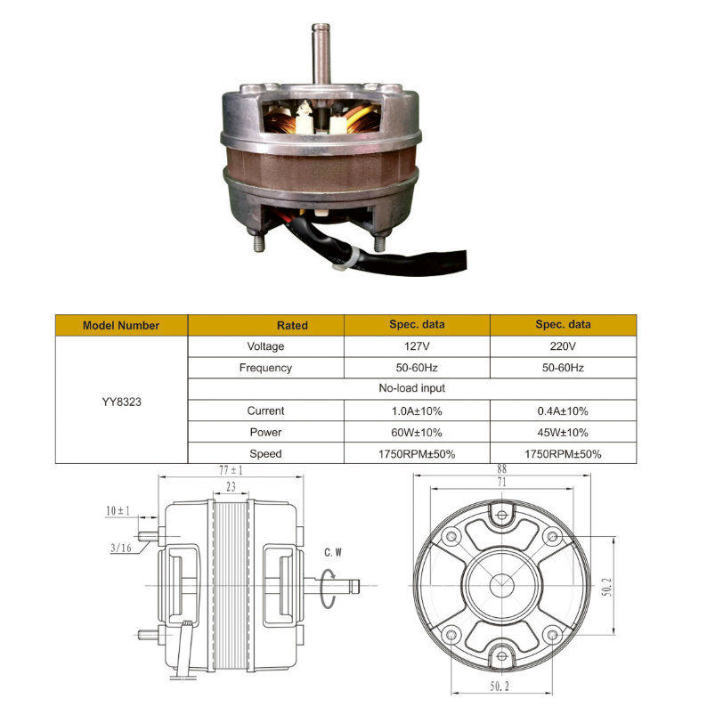 china 60w electric capacitor table fan motor for kitchen hood rh greatup en made in china com