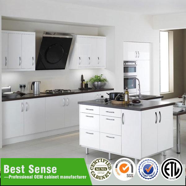 China Best Er Usa Australia West Euro Modern Kitchen Cabinets Canton Fair Cabinet