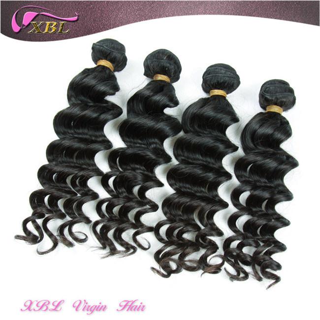 China No Chemical Process 100 Virgin Human Cambodian Hair Weave
