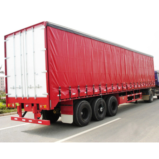 Tri-Axle Aluminum Curtain Side Cargo Trailer pictures & photos