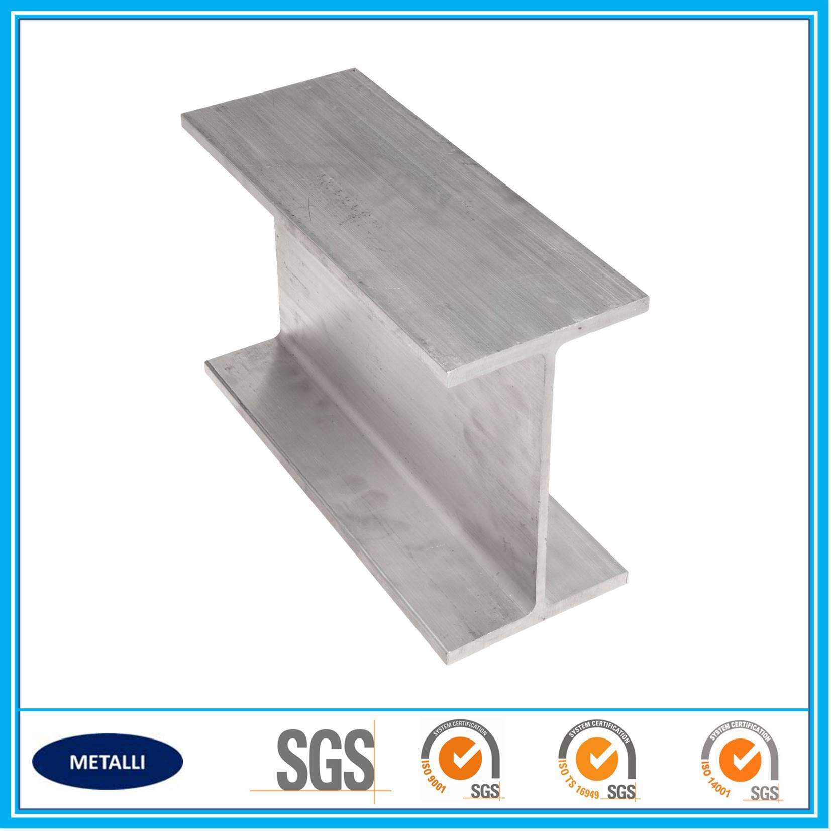 I Type Aluminum Beam Profile