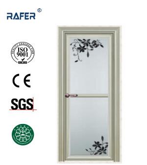 China Flower Design High Quality Aluminum Bathroom Door Ra G057 China Flower Design Door Door
