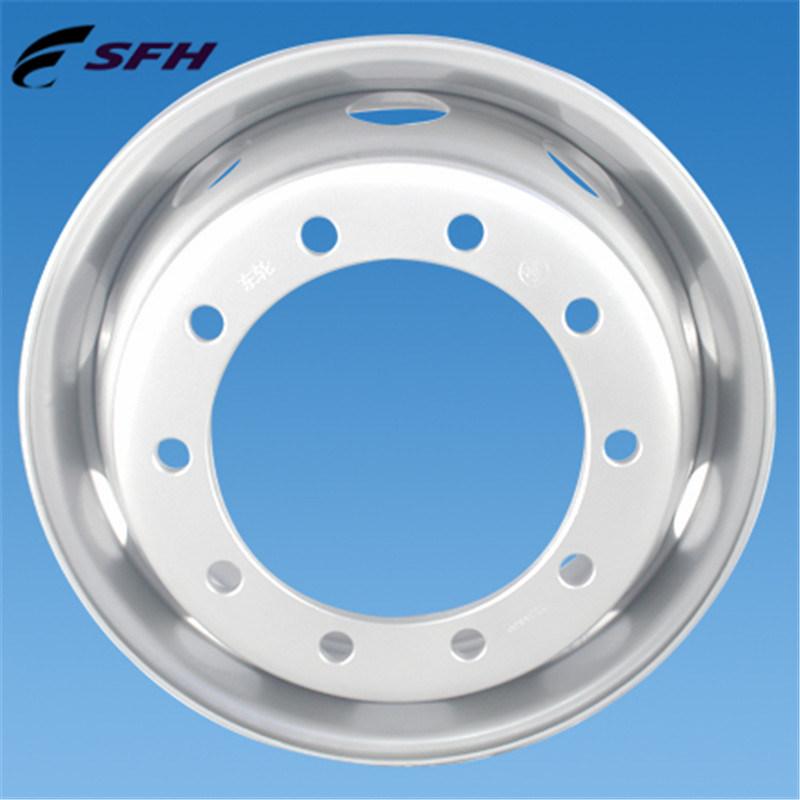China Tubeless Steel Truck Wheel Rim (22.5X9.0) - China Steel Wheel ...