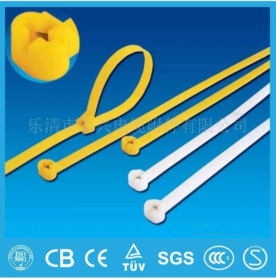 UL RoHS Passed Self-Locking Nylon Cable Tie Manufacturer Cheap Prices