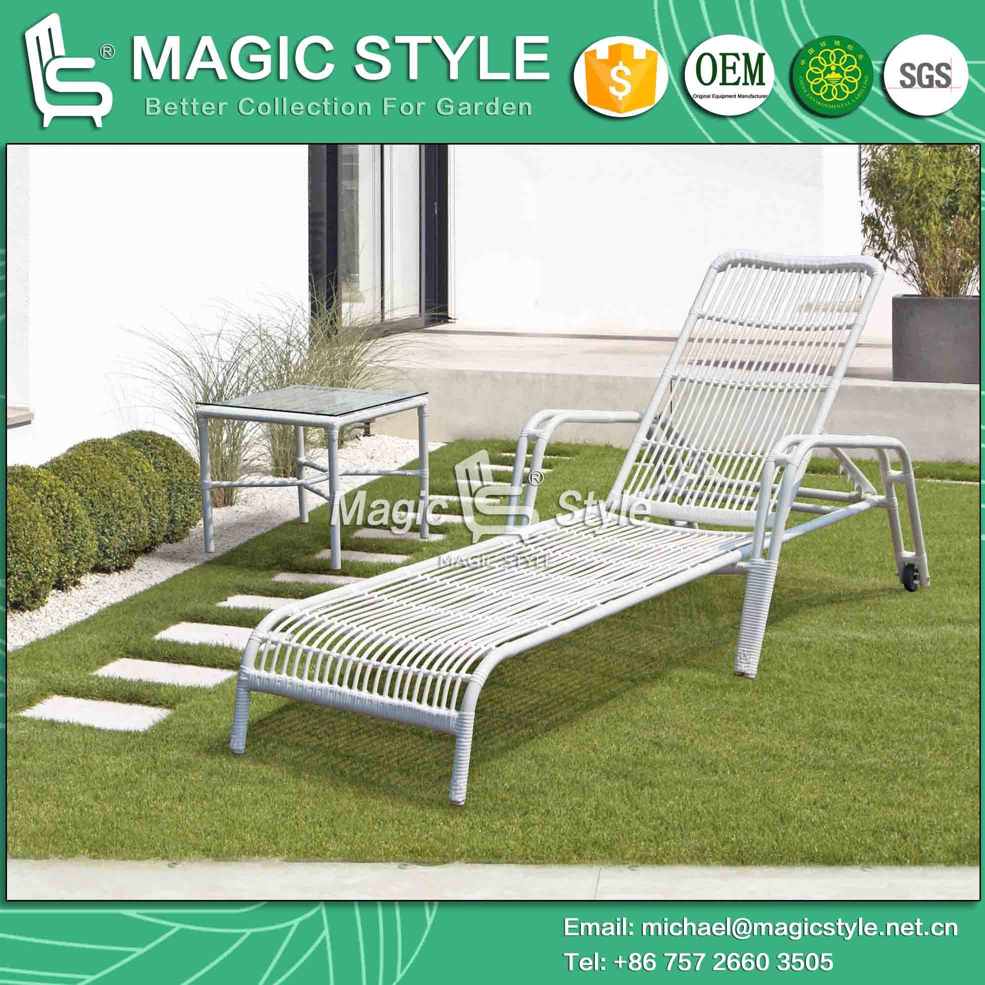 Chaise Lounge Rattan Sintetico.China Outdoor Sunlounger Rattan Sunbed Beach Patio Beach Lounge