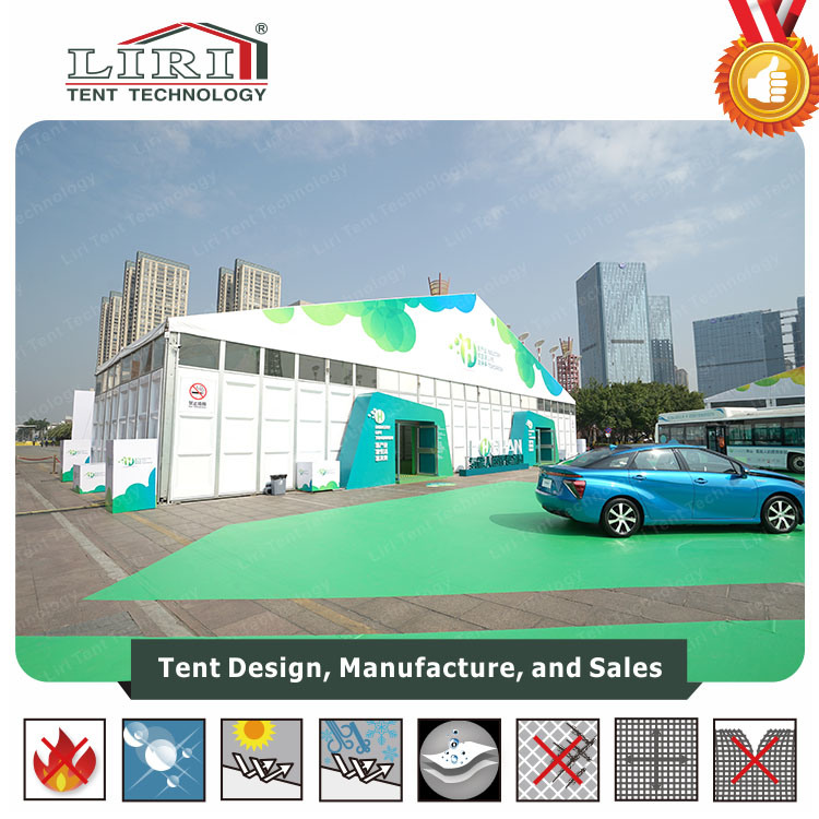 30X60m Large Exhibition Tent with Hard Wall for International Trade Fair pictures & photos