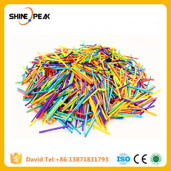 China 300pcs1000pcs Colorful Matchstick Wooden Sticks Diy Toy Model