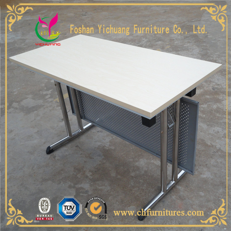 Yc-T100-6 Modern Wholesale Foldable Melamine Laminate Restaurant Conference and Meeting Panel Table Furniture for Sale in Hotel and Office pictures & photos