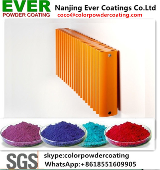 Ral Color Electrostatic Spray Epoxy Polyester Indoor Powder Coating pictures & photos