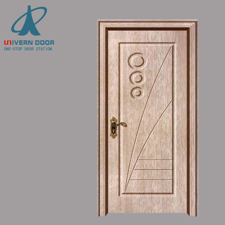 China Villa Main Extrance Teak Wood Single Door Frame