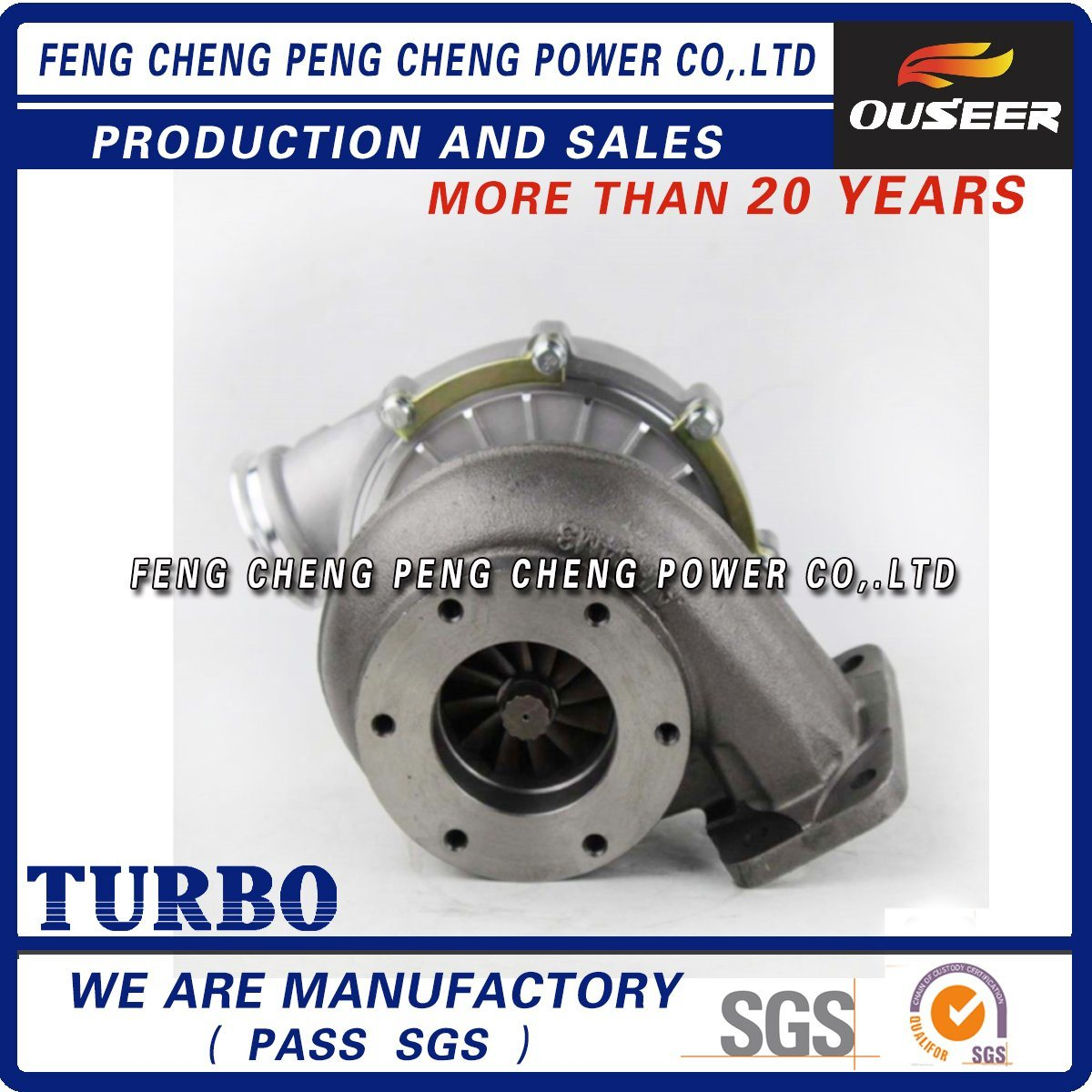 K27 53279886128 Manufacturer Diesel Engine Turbocharger for Om366la pictures & photos