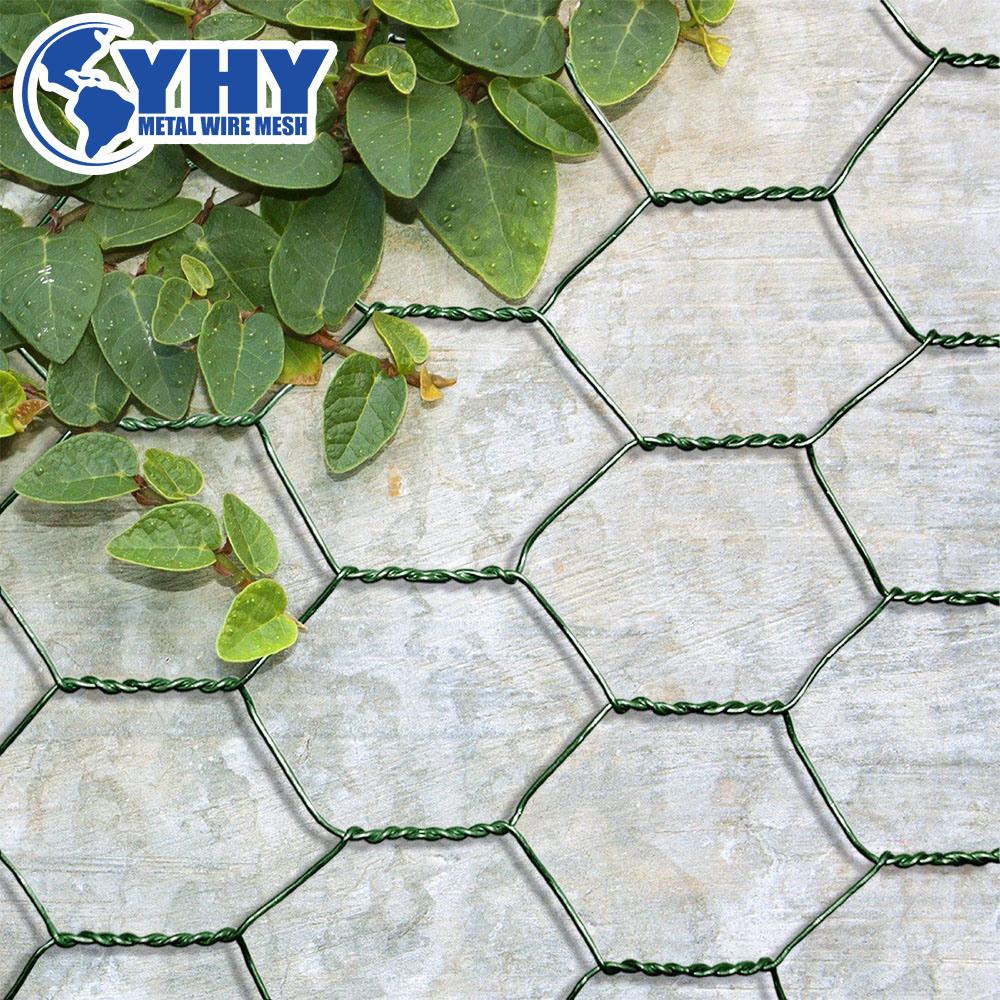 China Chicken Wire Mesh Galvanized & PVC Coated Hexagonal Wire Mesh ...