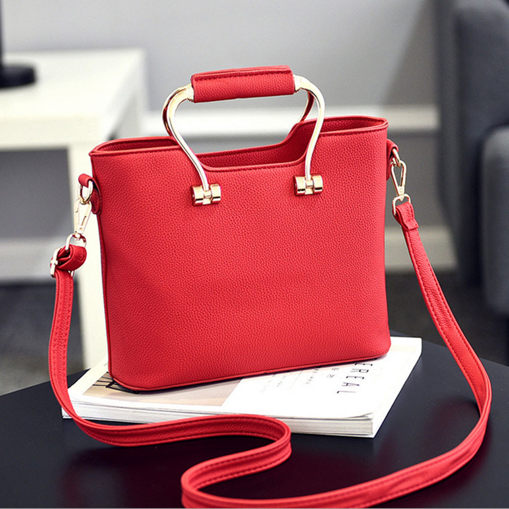 42f8d8b14505 China Different Colors Leather Handbags Ladies Bags with Beautiful ...