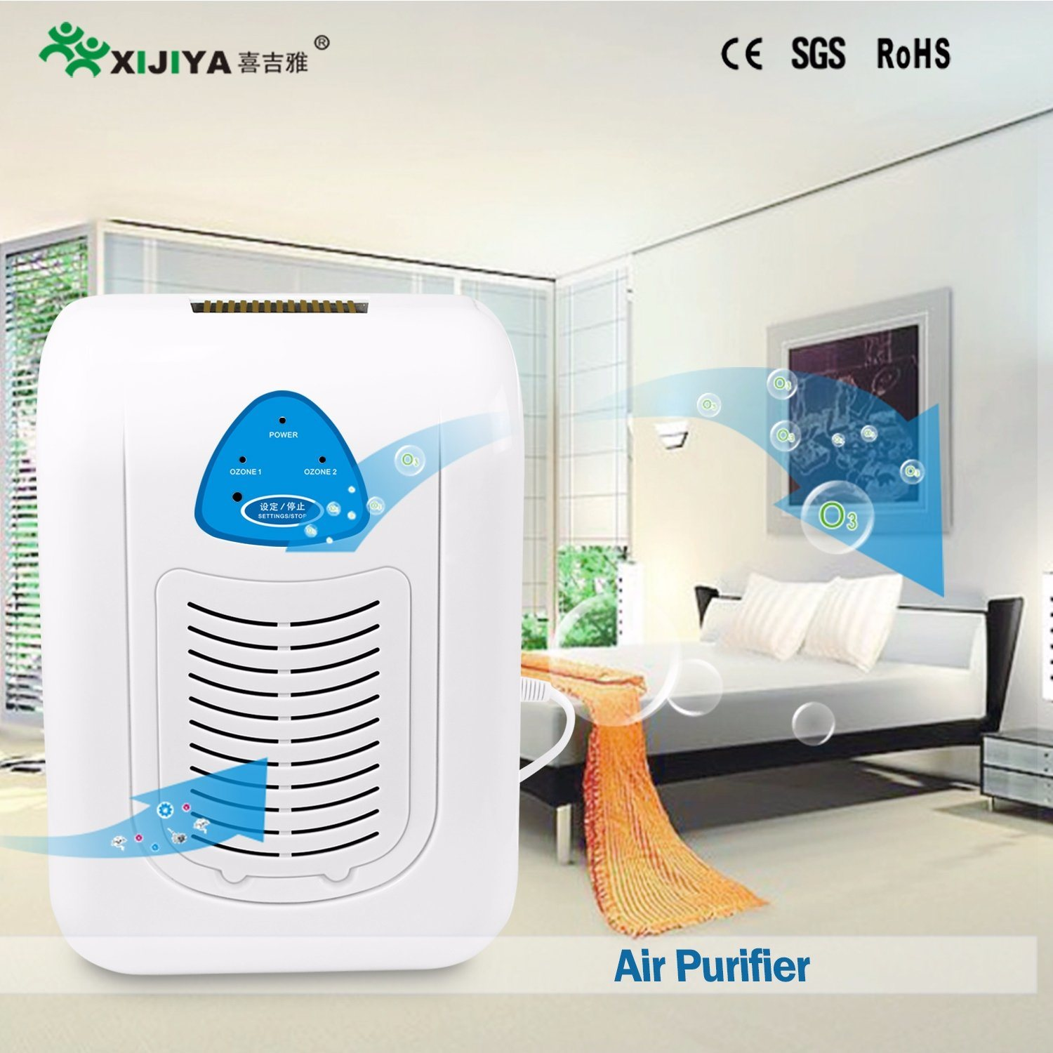 [Hot Item] Ozone Air Purifier for Apartment Odor Removal
