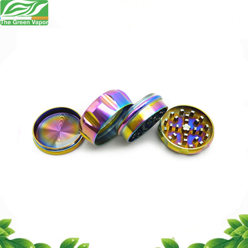 Grinding Machine Colorful 2 Inches 4 Pieces E Cigarette Grinder Drum Shaped Grinder pictures & photos