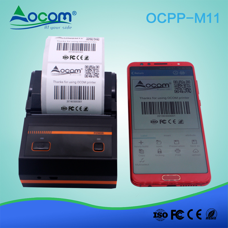 [Hot Item] Small 2 Inchs Portable Bluetooth Thermal Label Barcode Printer  Price