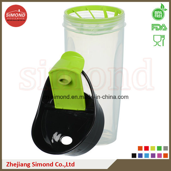 400ml PP Material Smart Shaker Bottle
