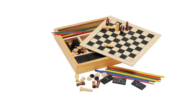 Wooden Chess Board Game Set (CB1015)