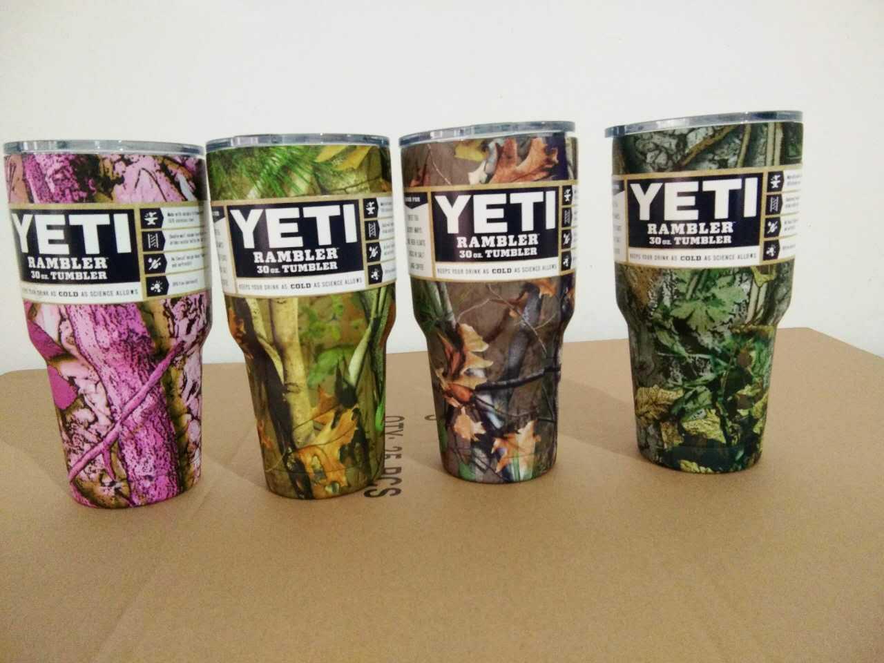 de3d5fbaa2b [Hot Item] Factory Wholesale Colored Camo 30oz Yeti Rambler, Vacuum  Insulated Colorful Yeti Tumbler Cup 30oz