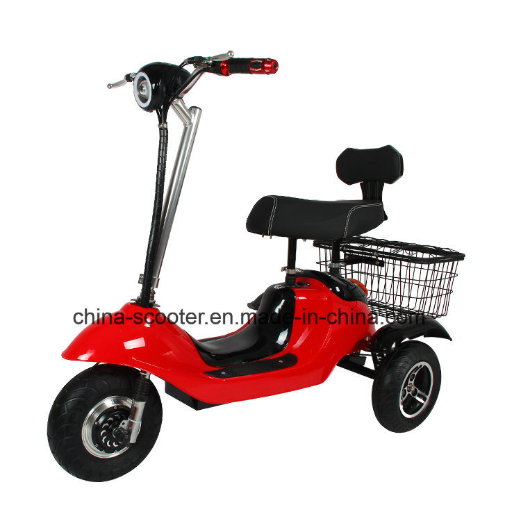 [Hot Item] China Cheap Foldable Electric Tricycle Adults, Colorful Folding  3 Wheel Electric Tricycle (TC-030)