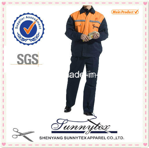 Custom Uniform Cotton High Quality Workwear Suit pictures & photos