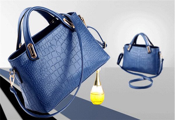 Fashion Women Messenger PU Leather Crossbody Handbags (54096) pictures & photos