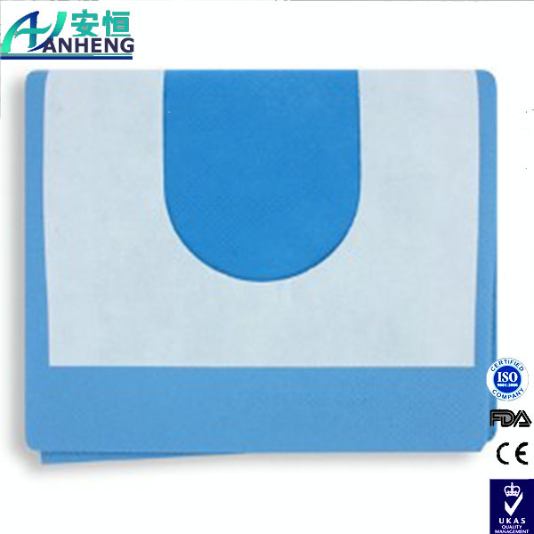 [Hot Item] Surgical Adhesive Apeture Fenestrated Drape for Surgery