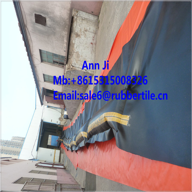 Inflate PVC Oil Boom, Solid Foam Oil Boom, Oil Seaweed Fence pictures & photos