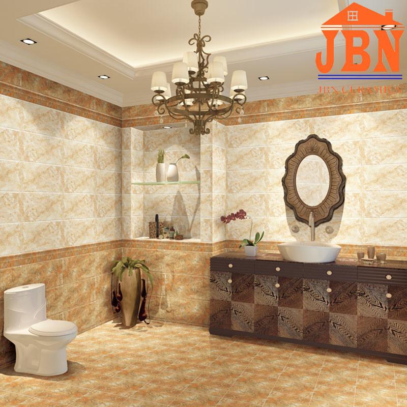 China 300x600mm Glazed Ceramic Digital Bathroom Tile 1mp68506a