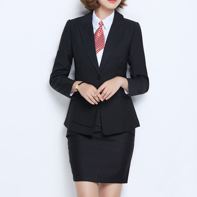 china hot sale women black new style formal business suit china women suits and suit price hot item hot sale women black new style formal business suit
