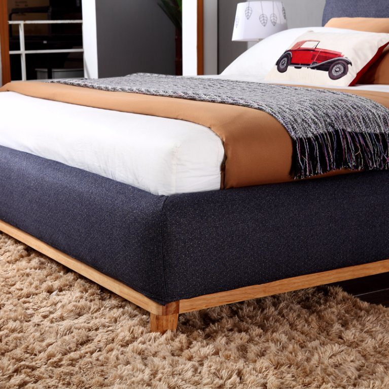 China Top Class High Quality Customized Luxury Wooden Bed Frame