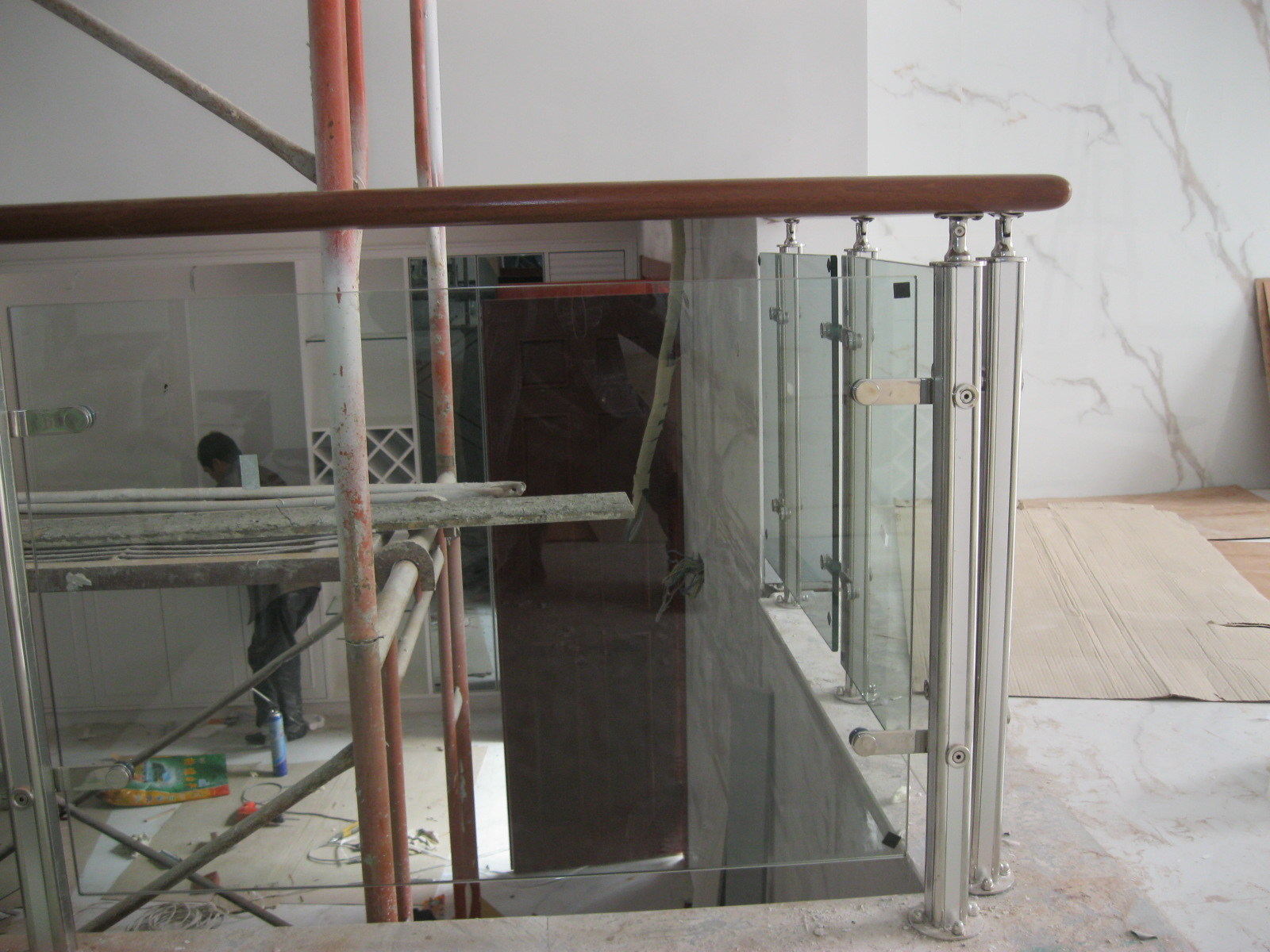 Factory Price Outdoor Balcony Stainless Steel Frameless Glass Railing