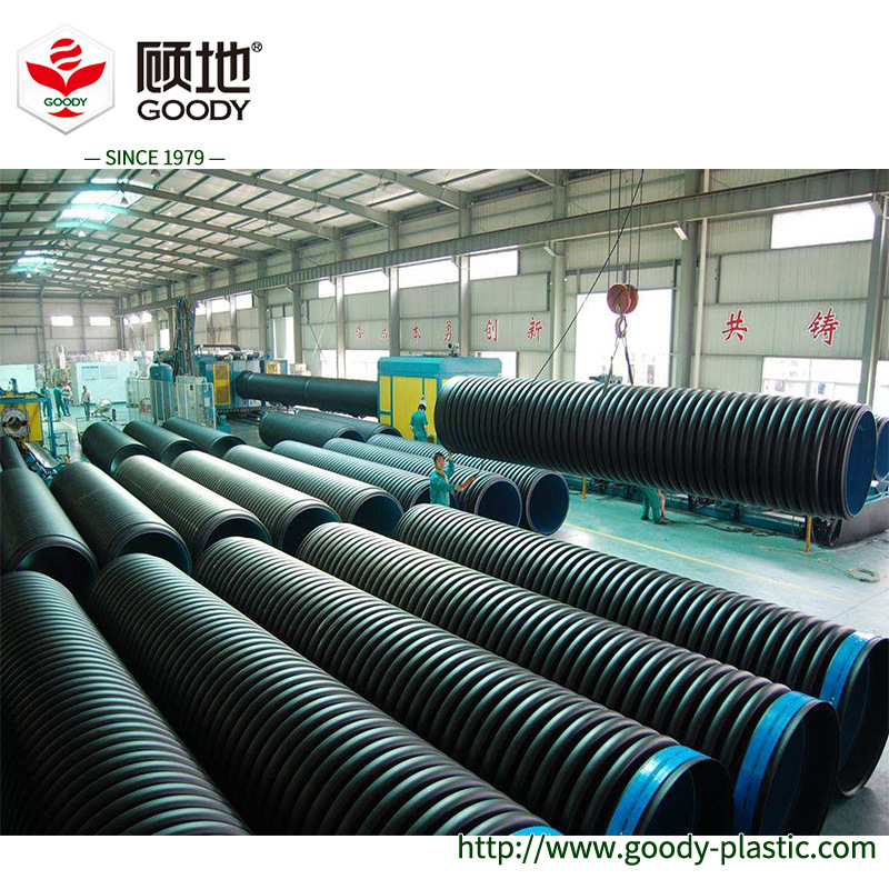 [Hot Item] 160mm HDPE Double Wall Corrugated Pipe for Subsoil Drainage