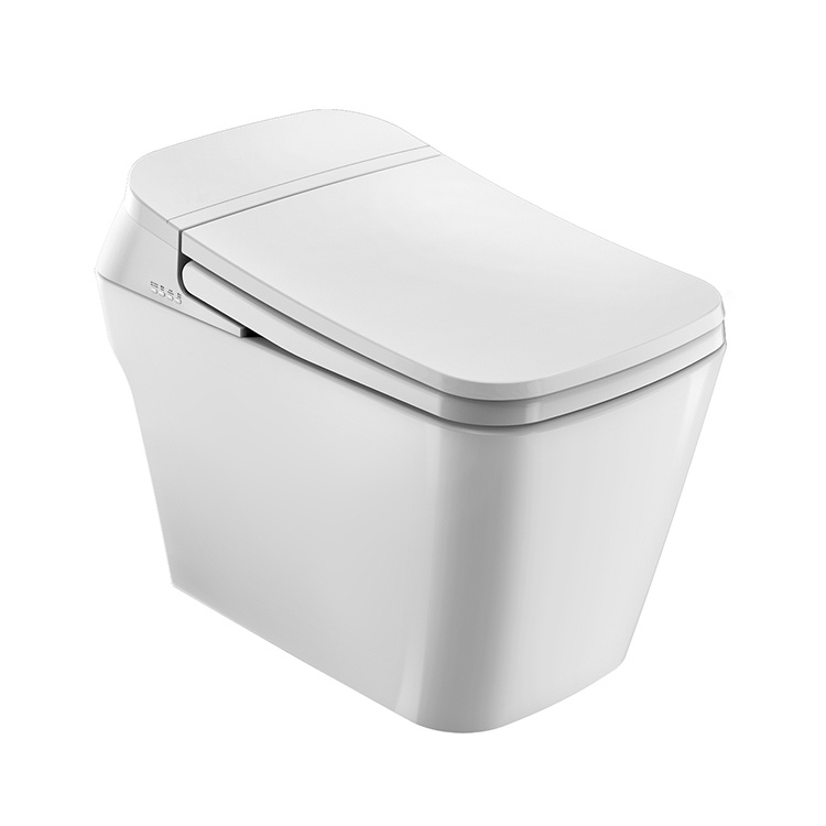 China Mobile Control Intelligence Smart Toilets with Built-in Bidet on