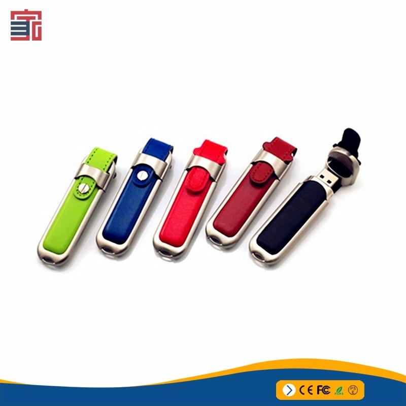 China Business Gifts Leather Usb Stick 2gb 4gb 8gb 16gb 32gb Flash Drive Est Price Disk