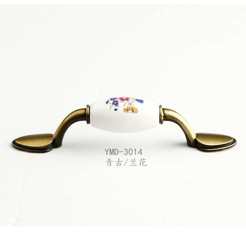 China Furniture Accessory European Style Aluminum Alloy Handle Wardrobe Door Cabinets Ing