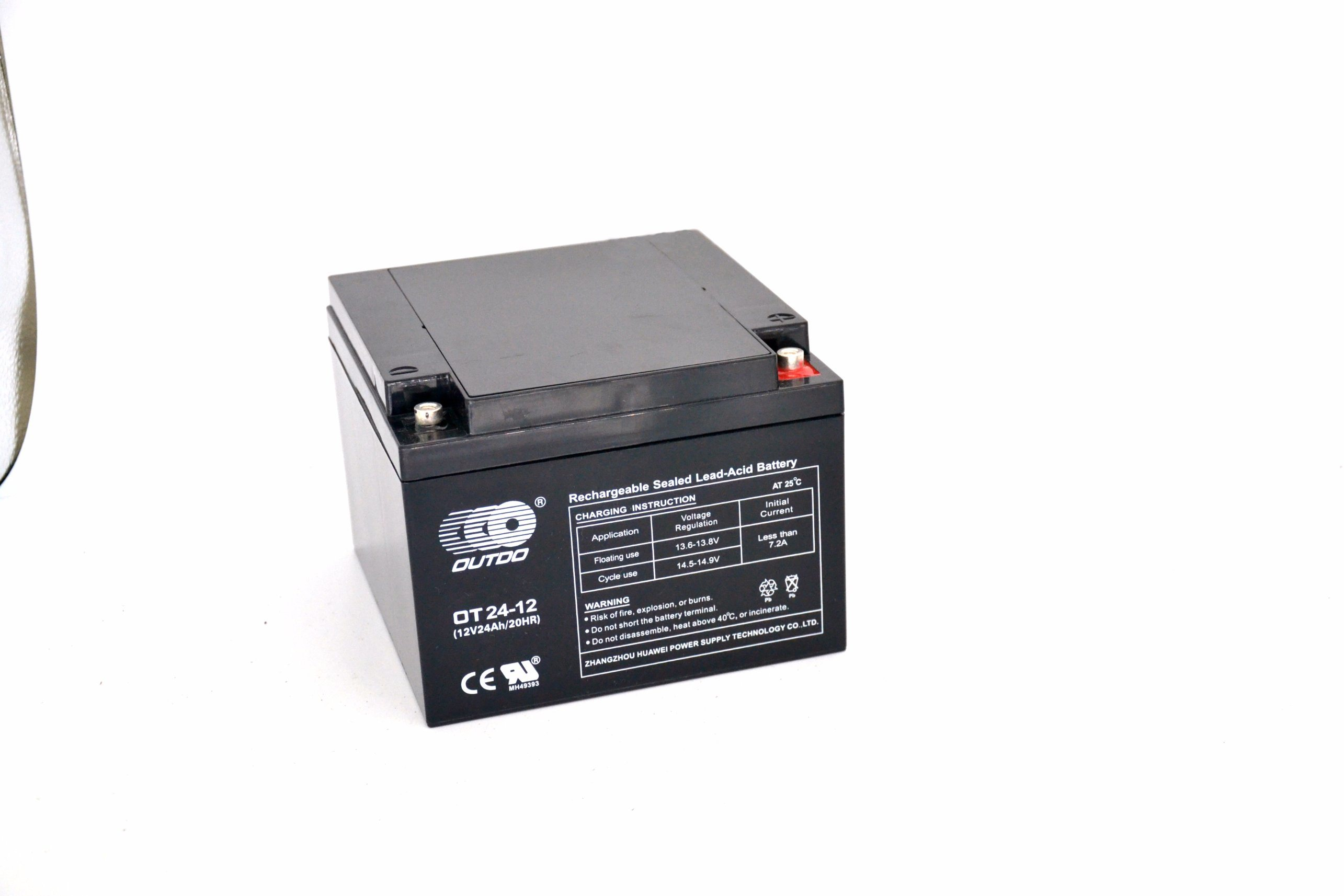 China Rechargeable Sealed Lead Acid Battery Ot24 12 Photos Switching Charger For Car Batteries Leadacid Vrla