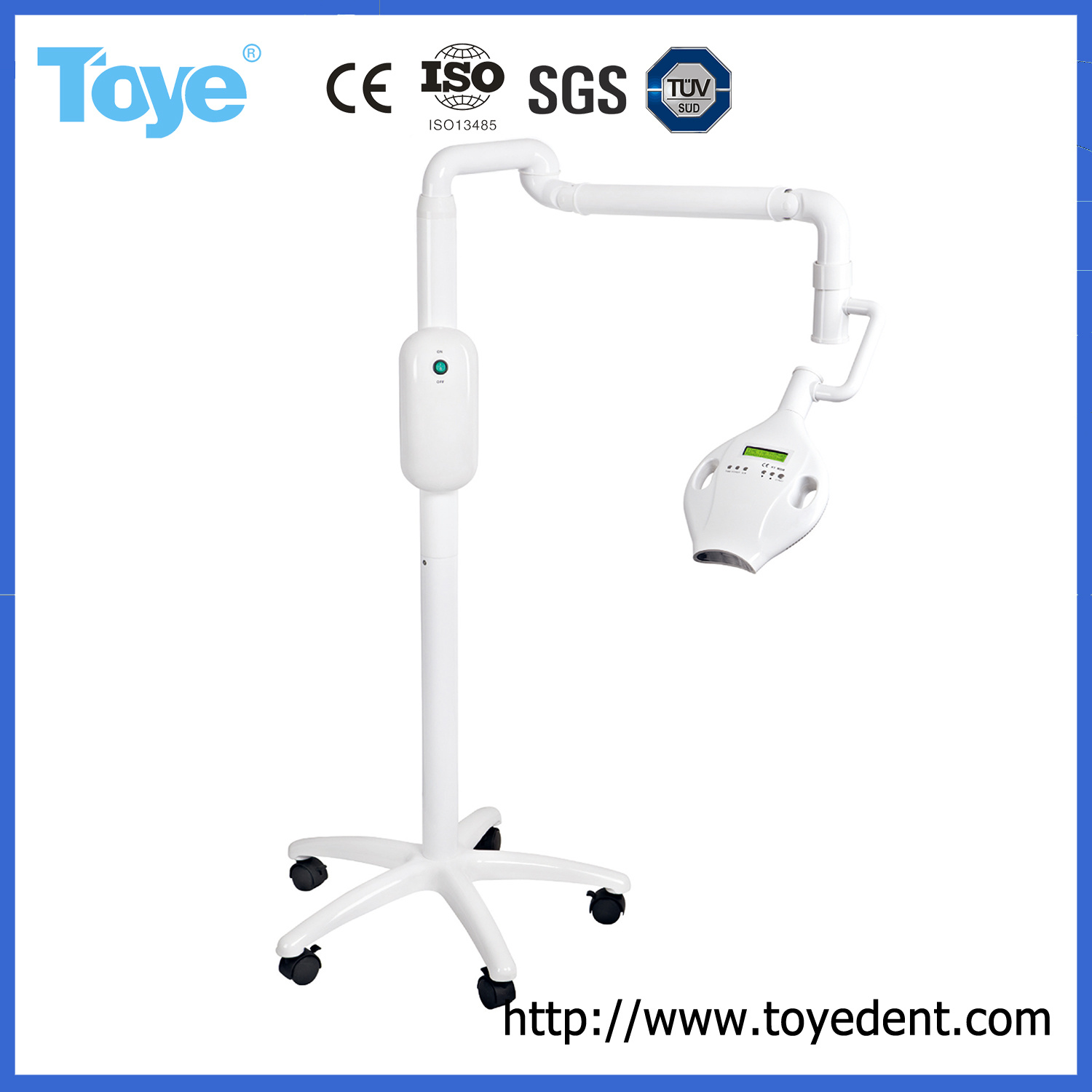 China Hot Sale Oral Use Dental Teeth Whitening Table Light