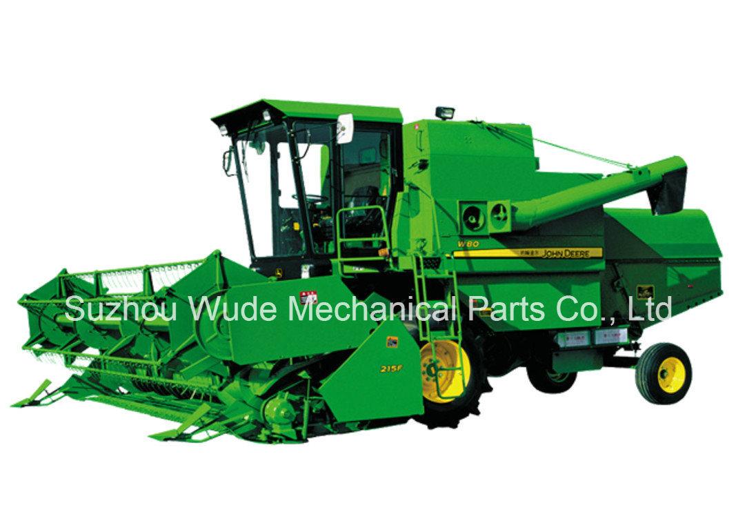 John Deere Combine >> China John Deere Combine Harvester For Rice Soyben Wheat W80 Series